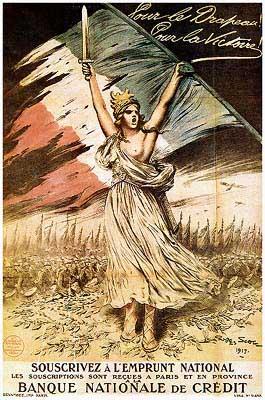 Плакаты первой мировой войны франция