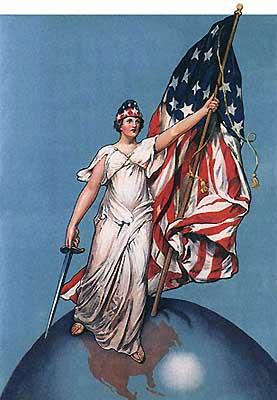 Плакаты первой мировой войны сша